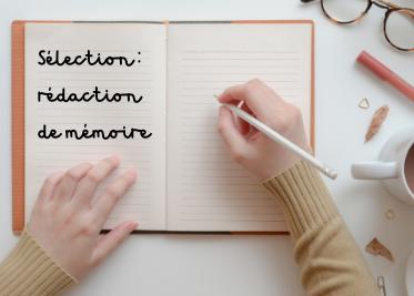 Notre sélection rédaction de mémoire