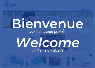 Bienvenue sur le nouveau portail !