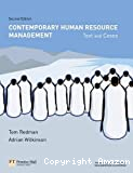 Contemporary human resource management