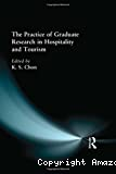 Practice of graduate research in hospitlity and tourism (The)